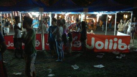 Giant Lantern Show, Nepo Center, Food Vendors, Jollibee