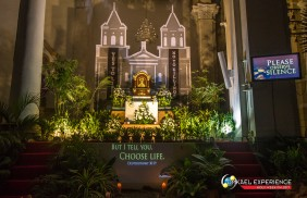 Holy Week Philippines 2017, Holy Rosary Parish Altar of Repose